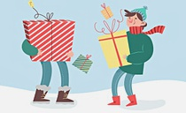 Большая новогодняя распродажа
