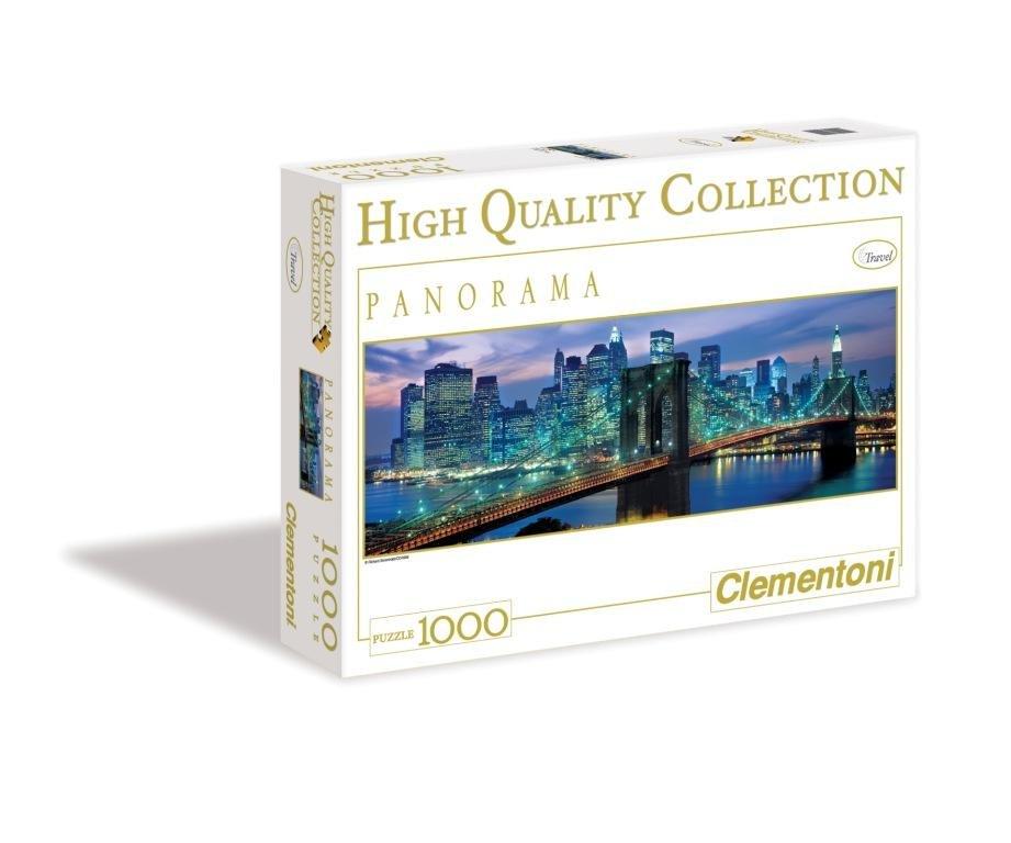 CLem.Пазл. 1000эл. Панорама.39209 Ричард Беренгольц, Бруклинский мост, Нью-Йорк (n) декобокс postermarket бруклинский мост в нью йорке 50 х 70 см dc 7010