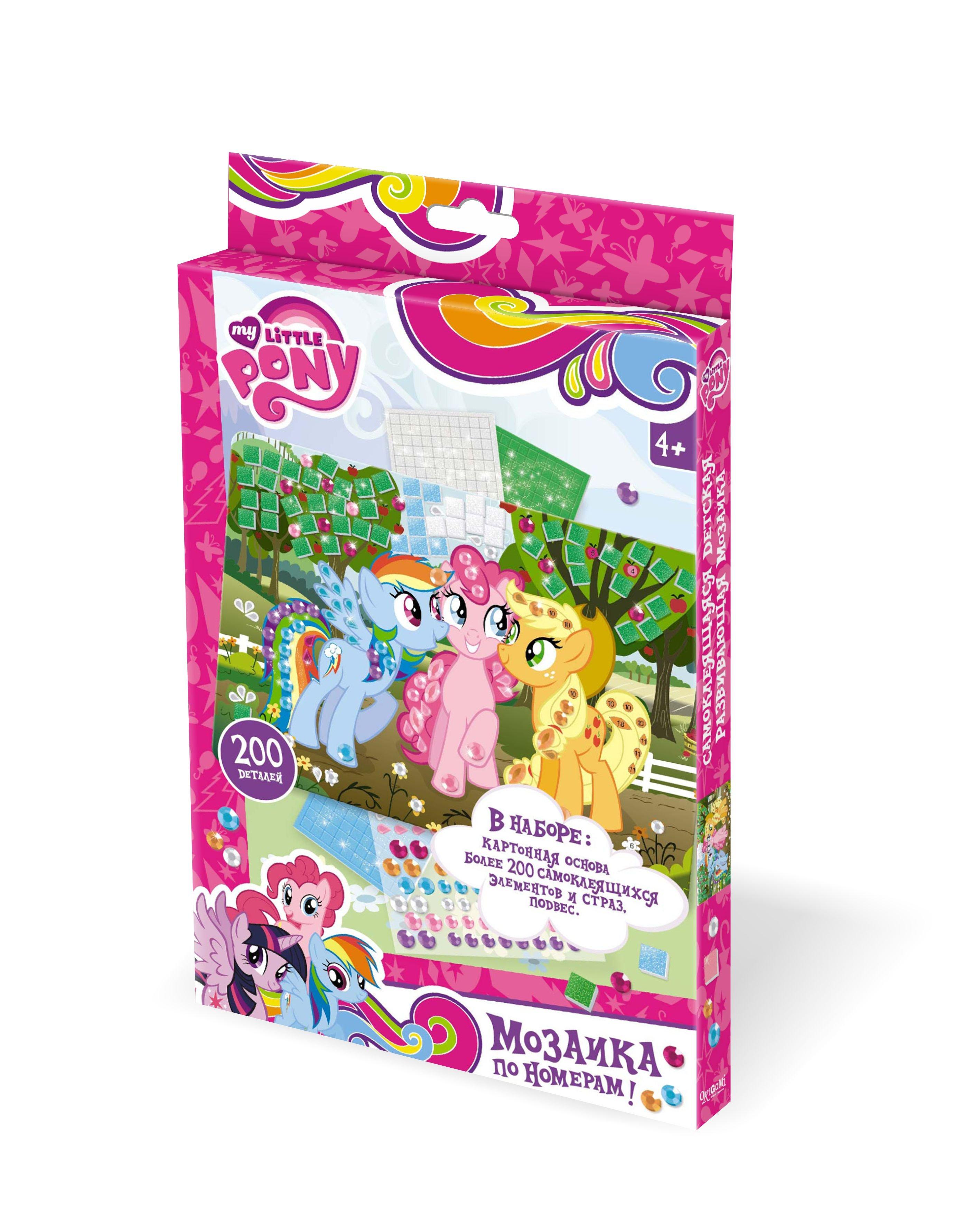 Пони. Мозаика. Магия дружбы. арт. 02271 пони зима пазл 35 гиг магия дружбы 4 открытки 04324