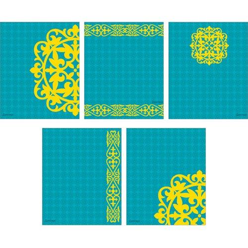 Казахстан (орнаменты) (А5, 48л.) путеводитель казахстан