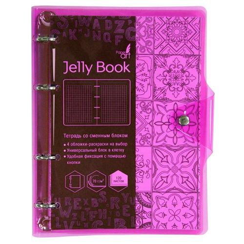 Jelly Book. Неоново-розовый А5, 120л. цена