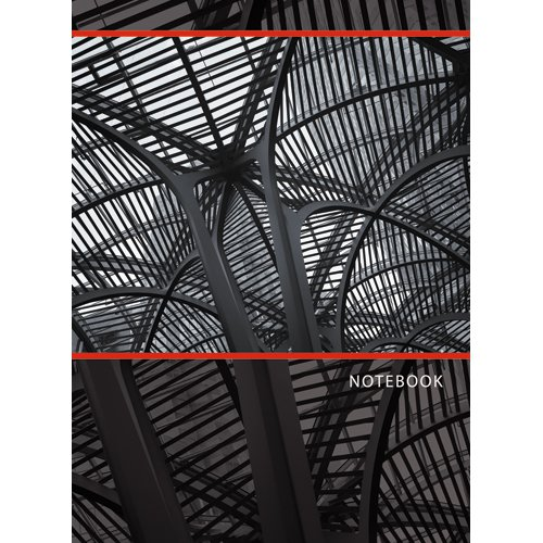 Офисный стиль. Стальная геометрия (А6, 96 л.) офисный стиль волнистый орнамент а6 64 л page 3