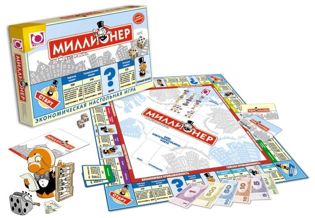 Настольная игра Миллионер классик