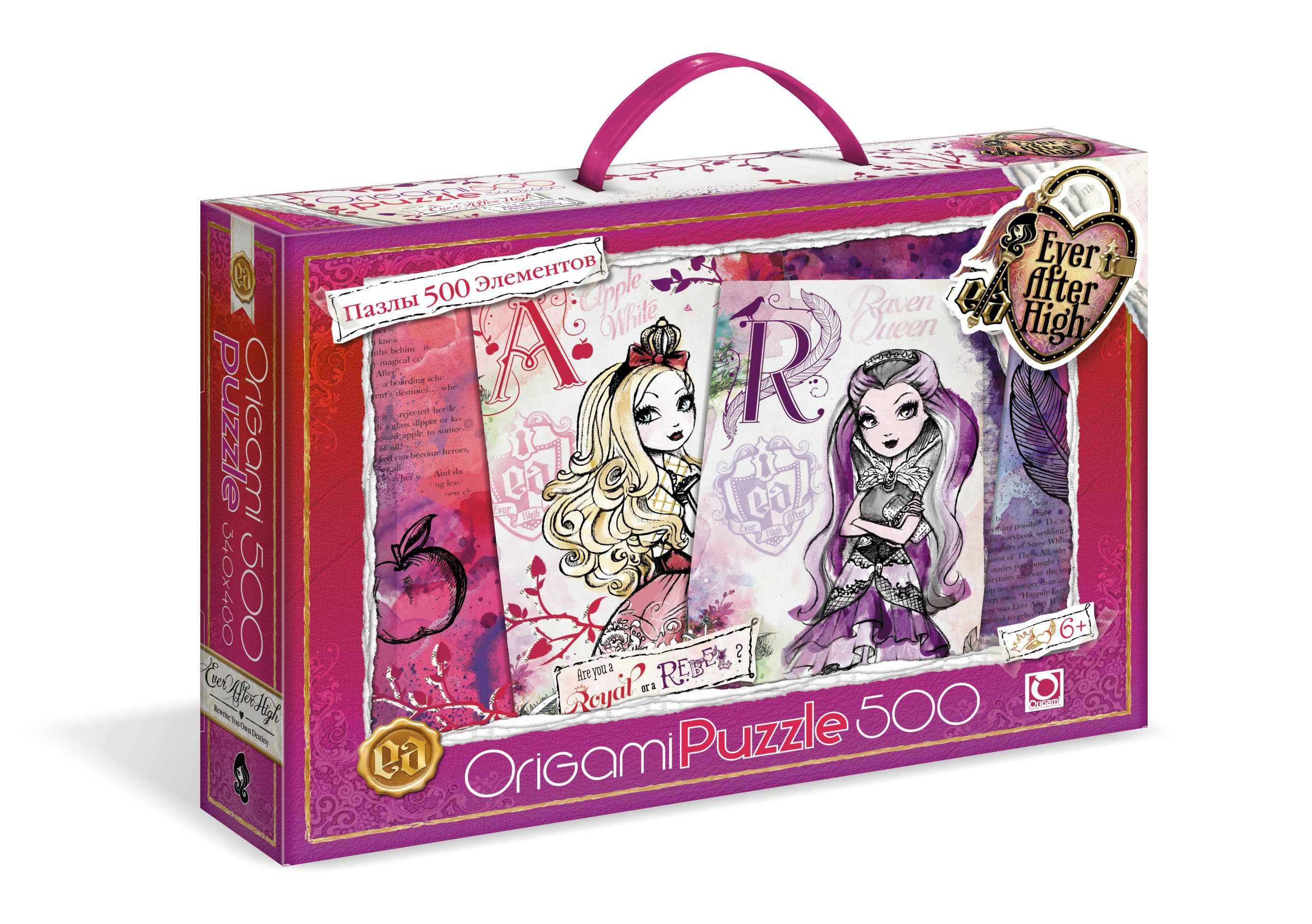 Ever After High.Пазл.500A.Чем.00677 ever after high пазл 500a чем 00677