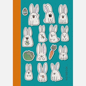 Белые кролики (А6, 80 л.)
