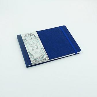 Скетчбук ARTCLASS, А5, 40 листов, синий
