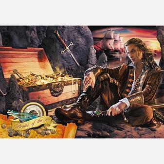 Волшебный мир. Пират и сокровища