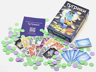Настольная игра Тугрики