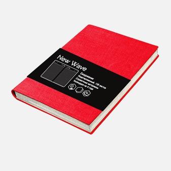 New Wave. Красный 136л. А6+ (118х168)