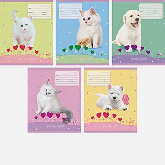 Белые и пушистые (котята и щенки)  (линия), 5 видов