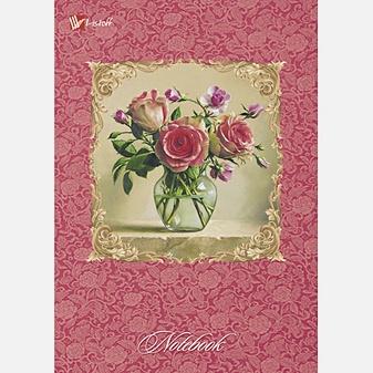 Цветы. Розовый букет