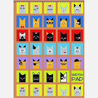 Кошки в окошках