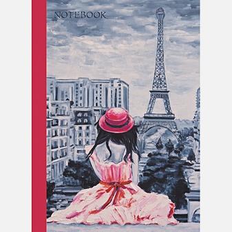 Графика. Романтика Парижа (А6, 80 л. лак)