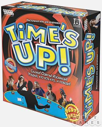 Наст.игр.:МХ.Time's up!.арт.1391