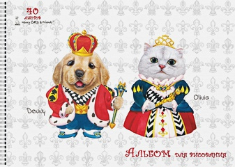 """Henry Cats & Friends™"". Король и королева. ЛИЦЕНЗИЯ"