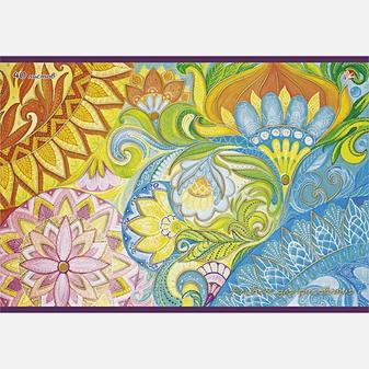 Цветочное вдохновение (орнамент)