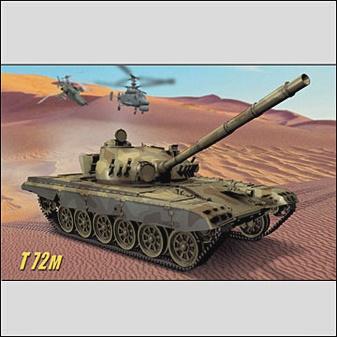 Транспорт и техника. Танк Т-72м