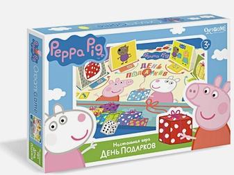 Настольная игра «Свинка Пеппа. День подарков»