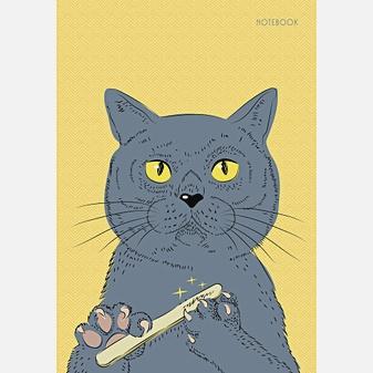 Важный котик