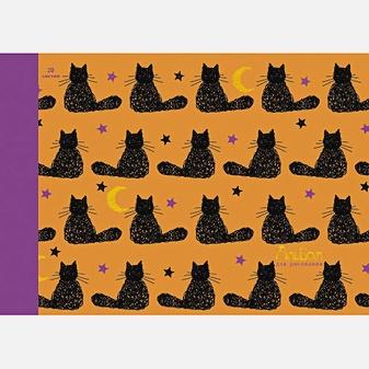 Кошачий орнамент (графика) (гребень, 20л.)
