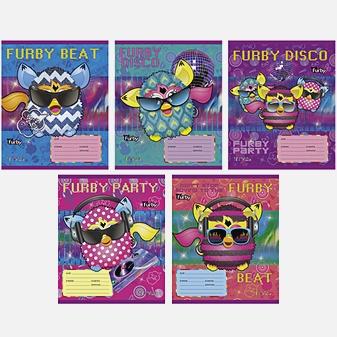 """""""Furby"""". Вечеринка (линия)  5 видов"""