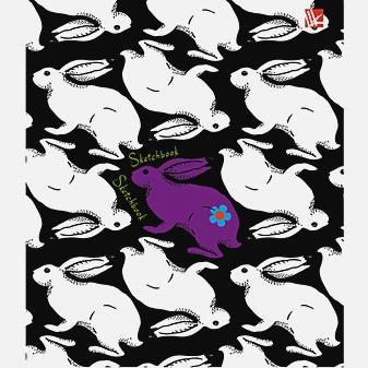 Графика (кролики) 80л. (125х160)