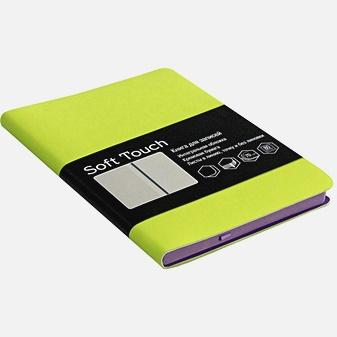 Soft Touch. Салатовый (книга А6)