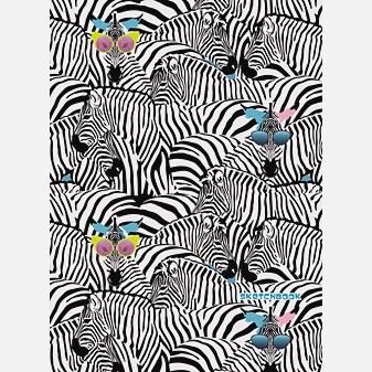 Модные зебры (графика) (А4, 80л. Блок без линовки)