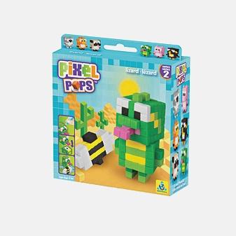Игрушка. Pixel Pops. Ящерица