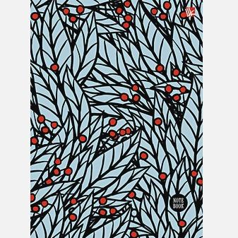 Орнамент Красные ягоды  80л. (132х186 )
