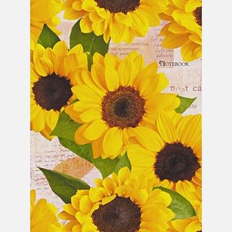 Цветы. Солнечное настроение (А6, 96 л.)
