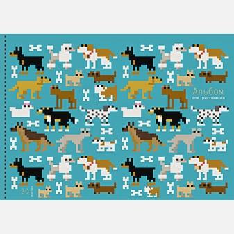 Пиксельные собачки