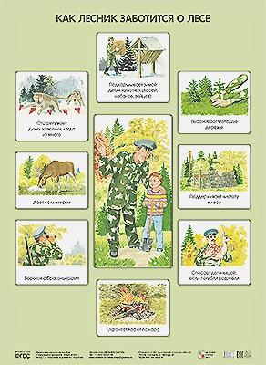 Николаева С. Н - ПЛ Как лесник заботится о лесе обложка книги