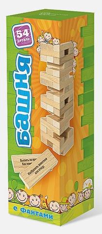 Настольная игра «Башня с заданиями для детей»