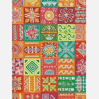 Орнамент. Яркая мозаика А6 64л.