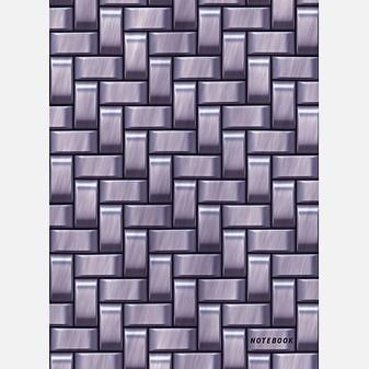 Офисный стиль. Стальное плетение (А6, 64 л.)