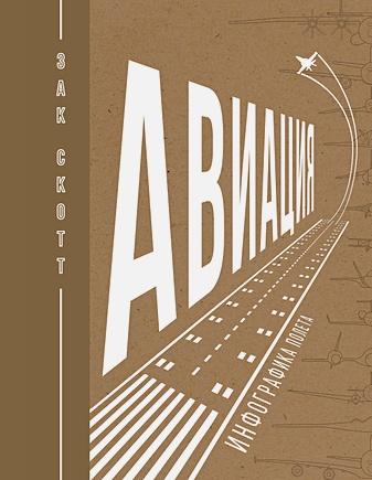 Скотт З. - Авиация: Инфографика полета обложка книги