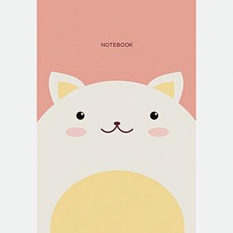 Блокнот «Кот», А6, 40 листов, дизайн 6