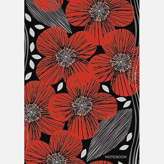 Графика. Красные цветы (А4, 160л.)