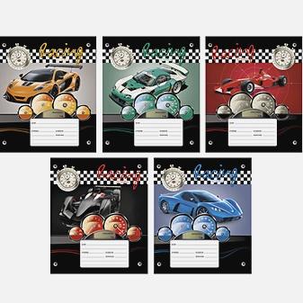 Гоночные автомобили (клетка), 5 видов