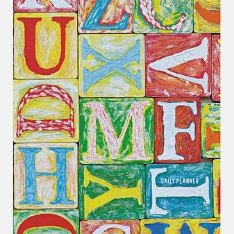 Графика. Разноцветные шрифты (А5, 128л.)
