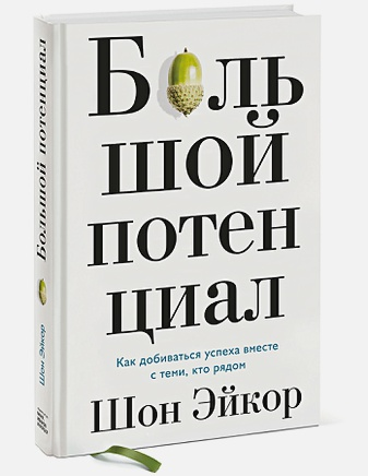 Шон Эйкор - Большой потенциал. Как добиваться успеха вместе с теми, кто рядом обложка книги