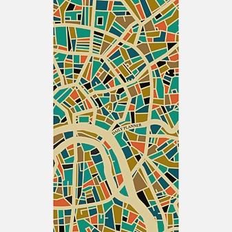 Ежедневник карманный «Карта города» недатированный, 128 листов