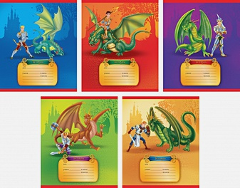 Рыцари и драконы (клетка), 5 видов