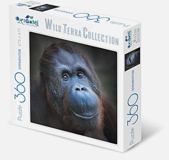 Пазл 360 эл. WildTerraCollection. Шимпанзе
