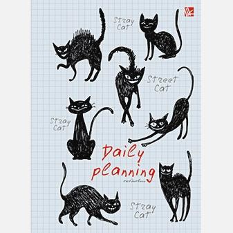 Графика. Черные кошки (поролон) 160л. А5-
