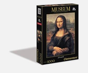 CLem.Пазл. 1000эл. Музей.31413 Леонардо да Винчи  Мона Лиза  (n)
