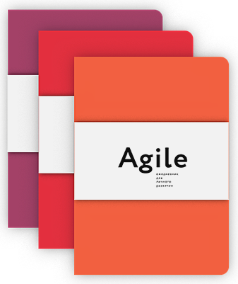 Катерина Ленгольд - Космос. Agile-ежедневник для личного развития (яркий, комплект из 3 блокнотов) обложка книги