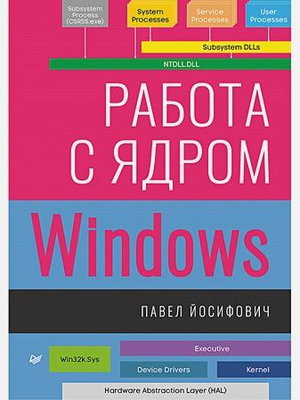 Йосифович П. - Работа с ядром Windows обложка книги