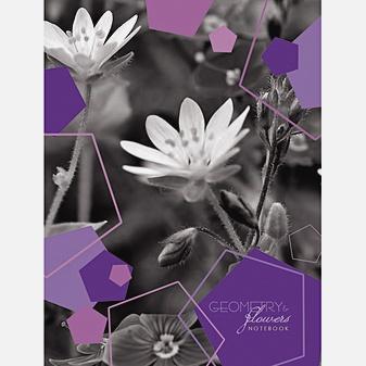 Цветы. Монохром (А6, 80 л. пленка)